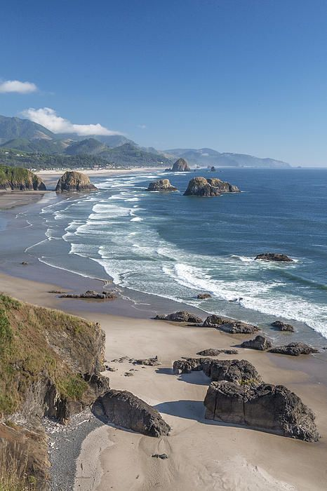 Canon Beach, Oregon, United States Of America